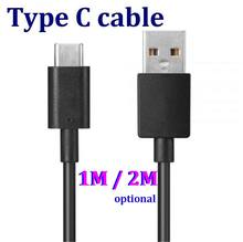 200PCS 1/2M Black/White Type-C 3.1 Type C USB Data Sync Charger Cable for mp3 mp4 pc table notebook