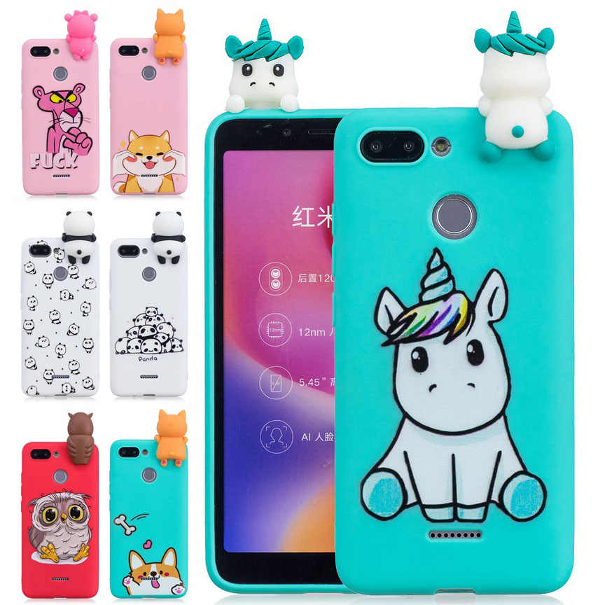 3D Unicorn Elegant Design TPU Cover