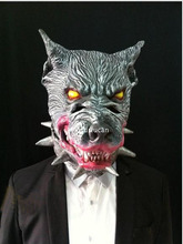 Latex Halloween Suppliers Wolf Mask Latex Animal Props Halloween Animal Mask 100% Brand New And High Quality Full Head Wolf Mask