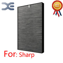 Adaptation For Sharp Air Purifier KC/FU-Y180SWHEPA Dust Collector HEPA Filter FZ-Y180SFS Air Purifier Parts(China)