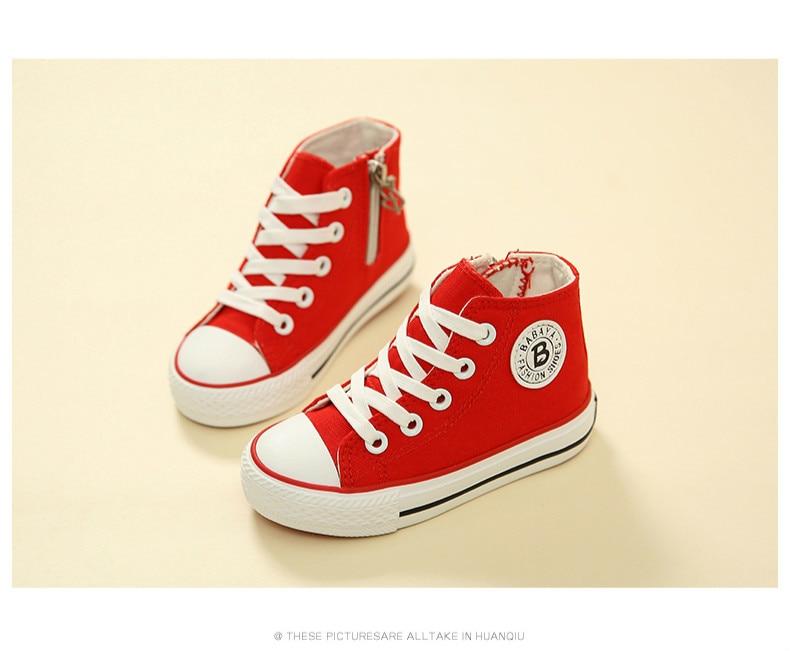 Enfants chaussures pour fille enfants toile chaussures garçons 24