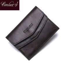 New Casual Genuine Leather Women Wallet Purses Coin Purse Female Small Hasp Wallet Lady Purse For Girls Money Bag(China)