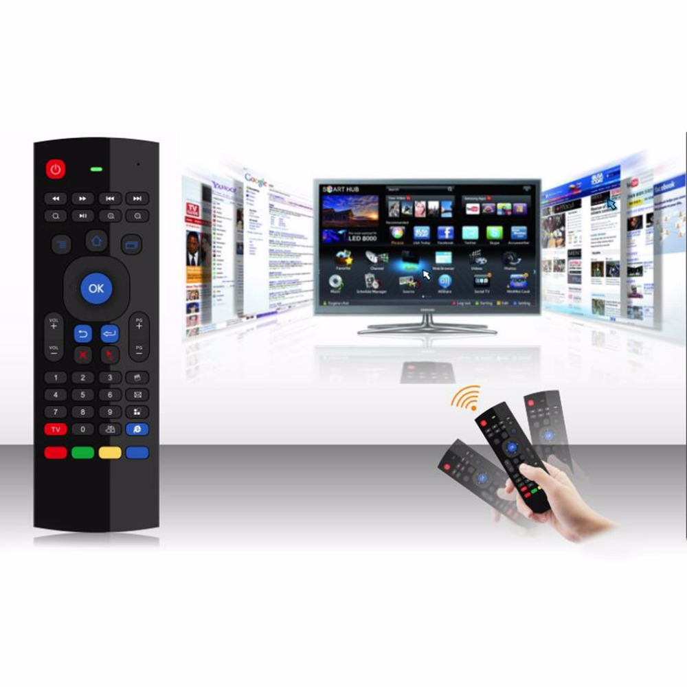 stock! IR 2.4G Wireless Remote Control Keyboard Air Mouse PC Android TV Box Newest
