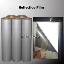 Reflective Heat Transfer Film 50cmWidthx100cm Length High Effective Light Line South Korea Quality Film Two Films
