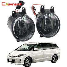 Cawanerl 2 Pieces Car LED DRL Daytime Running Lamp Fog Light White 12V For Toyota Estima MPV (MCR3_, ACR3_, CLR3_) 2000-2006(China)