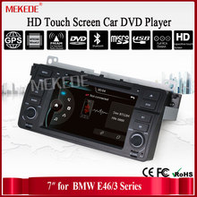 Factory Price 2 Din Car DVD Player for E46 M3 With GPS Bluetooth Radio RDS USB IPOD Steering wheel Free 8GB map card +shipping
