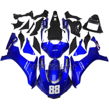 Body Kit for Yahama YZF1000 YZF R1 2015 2016 Blue Black Inejction Mold Fairing