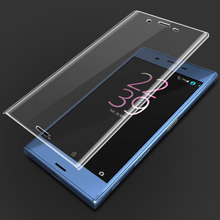 9H 3D Tempered Glass LCD Curved Full screen protector cover For Sony Xperia X Compact XZ F5121 F5321 FZ8331 Protective film(China)