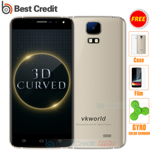 Original VKworld S3 3G WCDMA Smartphone Android 7.0 Quad Core 1.3Ghz 5.5 Inch Display 1G RAM 8G ROM 8MP Camera Mobile Phone