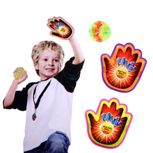 Funny Outdoor Sports Play Set Toys 1 Suction Ball 2 Hand Sucker Sticky Novelty item Children Training Toy