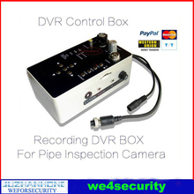 Control Box With DVR Recording Function For Drain Sewer Inspection Camera Spare Parts Pipe Camera Accessories DVR Controller