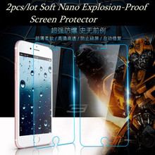 Free shipping Pack 2pc/lot soft Nano Explosion-proof Screen Protector Film  for THL 4000 W100 5000 T6S W200 W3