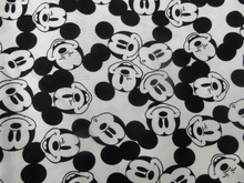50*170cm Cartoon love Mickey Elasticity LYCRA Cotton fabric For Sewing diy Patchwork Parent-child Clothing ,BABY boy clothes