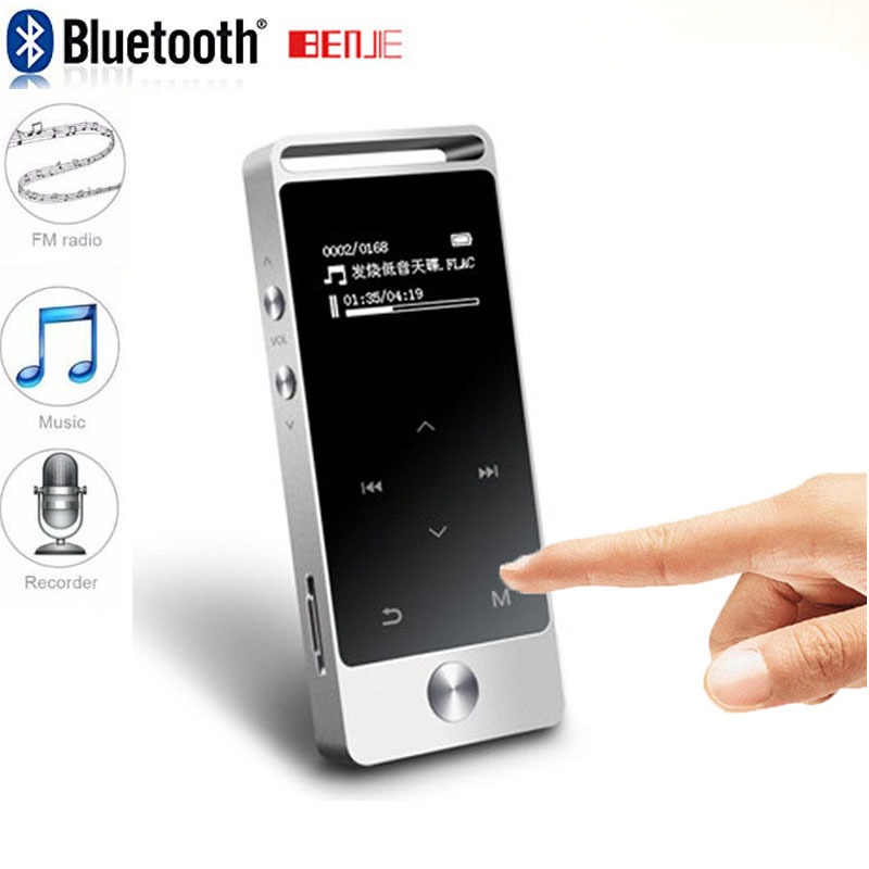 Original Touch Screen Bluetooth Lossless MP3 8GB benjie s5 C Metal High Sound Quality Entry-level Lossless Music Player RUIZUX06(China)