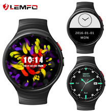 LEMFO LES1 Android 5.1 Smart Watch Phone Support SIM Card Wifi 1GB+16GB Bluetooth MP3 Smartwatch With Pedometer for Android IOS