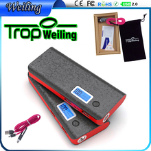 Tropweiling powerbank 18650 10000mah power bank 18650 power bank box pover bank portable battery for phones