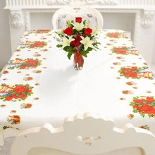 Christmas Santa Pattern Easy Wipe Clean Disposable Table Cloth Tablecloth Thanksgiving Wedding Festival Holiday YCX3332(China)