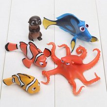 5pcs/lot 3cm-5cm Hot Cartoon Movie Finding Nemo Action Figure Model Nemo Doll Anime Brinquedos Kids Toys
