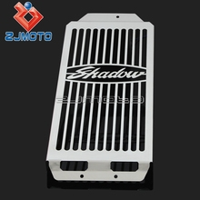 Radiator Grill Cover For Honda Shadow Aero VT400 / VT750 2004-2012 Stainless Steel Radiator Grill Guard