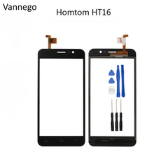 Buy Vannego Touch Panel Homtom HT16 Touch Screen Digitizer Front Outer Glass Lens Sensor Touchscreen + Tools free for $7.80 in AliExpress store