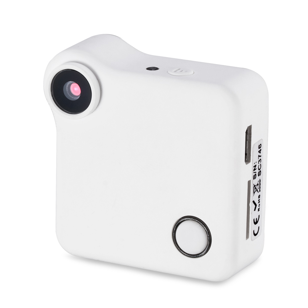 FUERS HD 720P Portable Wearable Mini IP Camera Motion Sensor Action Camera Video Recorder Video Photo Motion Mode Camera<br>
