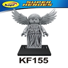 Single Sale Super Heroes Weeping Angel Dr.Who Figures Christopher Eccleston Building Blocks assemble action Children Toys KF155(China)