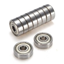WSFS Hot 10x Ball bearing  Deep groove ball 626-ZZ 6mm Industry top quality