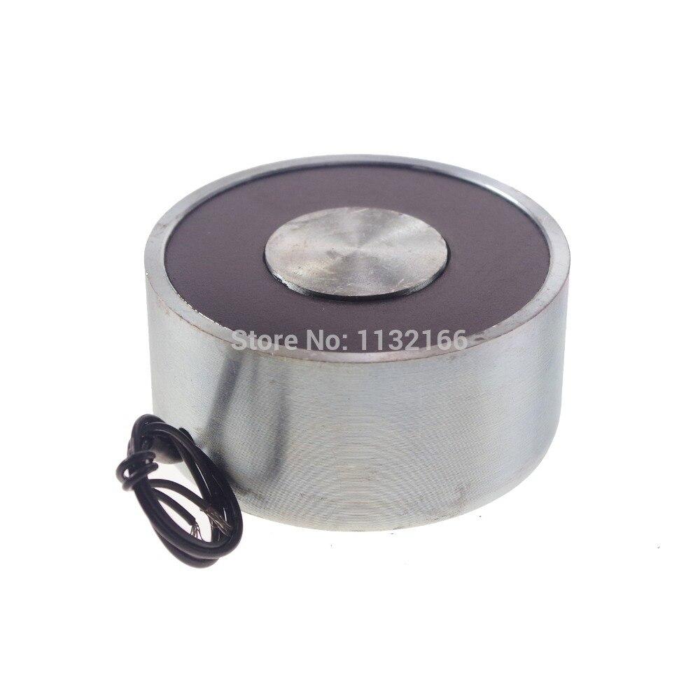 12Vdc 90kg 198LB 80mm Holding Electromagnet Lift Solenoid<br><br>Aliexpress