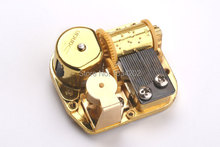 Music box golden movement 18 Note wind up DIY music box parts gift for children and adult Tune: For Elise(China)