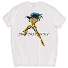 Gold Saint Seiya Character All Star T Shirt Design Manga Anime T-shirt Cool Novelty Funny Tshirt Style Unisex Print Fashion Tee(China)