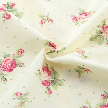 Rose series Arrivals 50x160 CM Blue Floral Cotton Fabric Meter Textile Sewing Patchwork Fabric For Dog Clothes Sofa CurtainMB-10