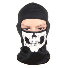 New 3D Outdoor Sports Hunting Bicycle Cycling Skateboard Motorcycle Skull Ghost Ski Riding Hat Balaclava Protect Full Face Mask