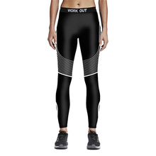 Women Fitness Gym Leggings New Winter Autumn Line Slim Yoga Pants Girls USA Style Jogging Running Eerxcise Trousers Ropa Mujer(China)