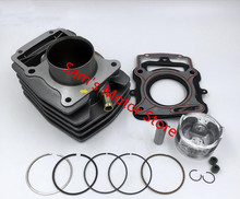Water Cooled Cooling 63.5MM 197CM3 YX CG 200 Motorcycle Cylinder Kits With Piston And 15MM Pin