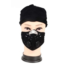 Men Women Super Anti Dust Cycling Face Mask Breathable Anti-pollution Air Filter Bike Bicycle Riding Face Masks Outdoor Sports