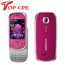 7230 Original Unlocked Nokia 7230 3G mobile phone 3.2MP Camera Bluetooth FM JAVA MP3 cheap cell phone mobile phone Free Shipping(China)