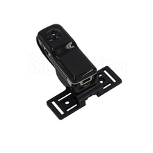 Mini Camera Camcorder MD80 Mini DV DVR 720P HD Sports Camera for Bike /Motorbike Video Audio Recorder Black with Holder and Clip