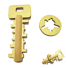 Kids Educational Toy Key Unlock Puzzle Children Pre-school Baby Intelligence Developing Toy Wooden Unlock Gifts Kong Ming Lock
