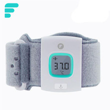 6pcs/lot baby health care Children FII iFever intelligent wearable electronic bluetooth smart baby monitor household thermometer