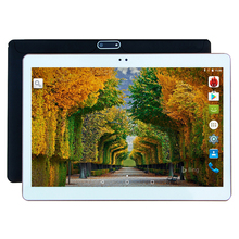 "10 Inch Tablet PC 3G 4G Lte Octa Core 4GB RAM 32GB ROM Dual SIM 5.0MP Android 7.0 GPS 1280*800 HD IPS Tablet PC 10""(China)"
