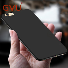 GVU Phone Case For iPhone 6 Cases Fashion Case Hard Plastic Back Covers Shell For iphones Apple 6s 7 Plus Bumper Case(China)