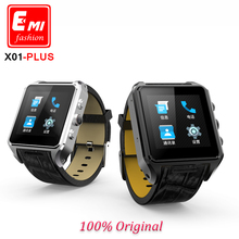 "X01 plus smart watch MT6572 Dual core 1.54"" screen 1G Ram 8GB Rom sim card Android 5.1 Bluetooth 3G WIFI Camera GPS For iOS Xiao"