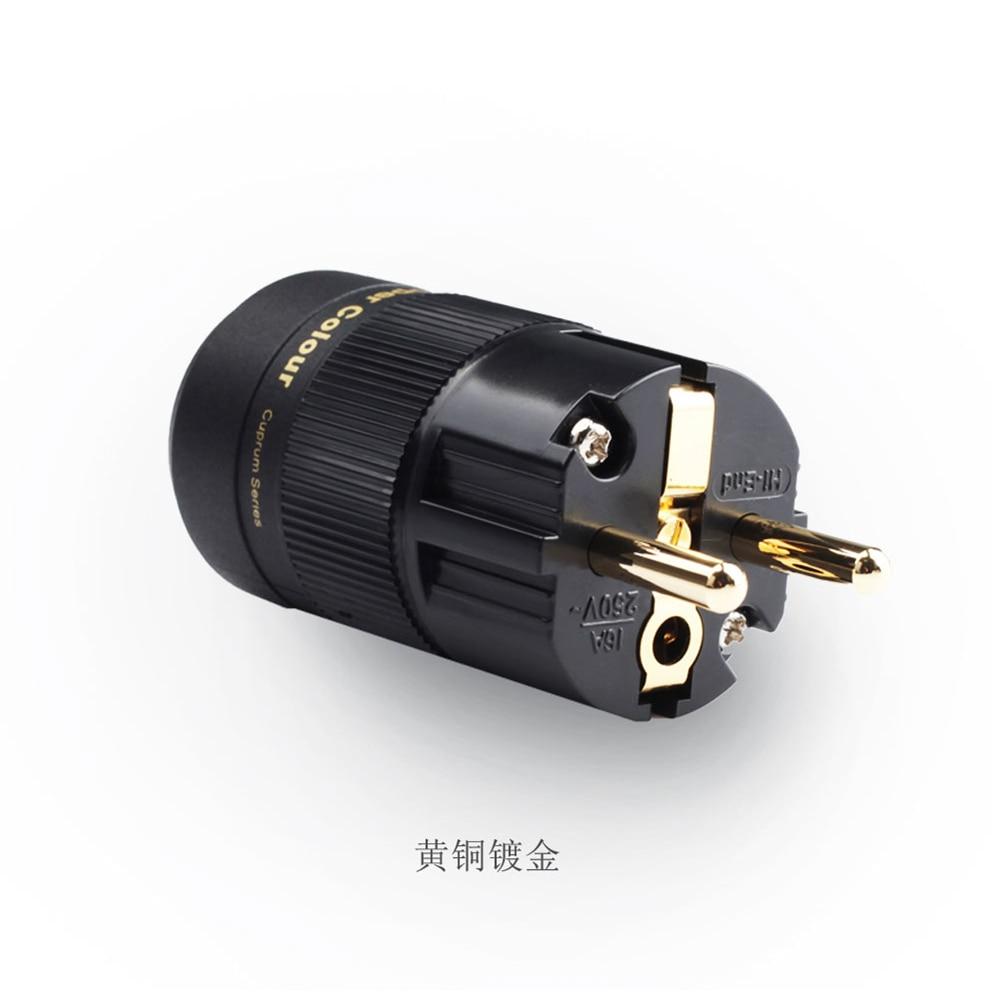 Copper Colour Penny IV HiFi Power Cord Cable US Plug Brand New