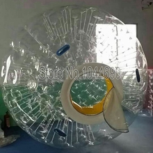 free shipping soccer zorb ball water zorb ball with mesh zip door for kids