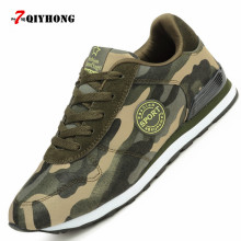 QIYHONG Fashion Lovers Canvas Shoes Camouflage Military Women Casual Shoes Autumn Breathable Camo Flats Women Chaussure Femme(China)