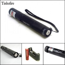 Tinhofire Laser Pen 301 532nm 200mW Green Laser Pointer Pen zoomable Burning Matches Lazers + 18650 Battery 3000mah + Charger(China)