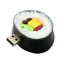 64GB New Style sushi food USB Flash drive Hot sale Genuine 4GB 8GB 16GB 32GB japan sushi food USB flash memory drive Pen U disk