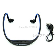 New Wireless Bluetooth Multimedia Stereo Headset Music Earphone For Jogging Running(China)