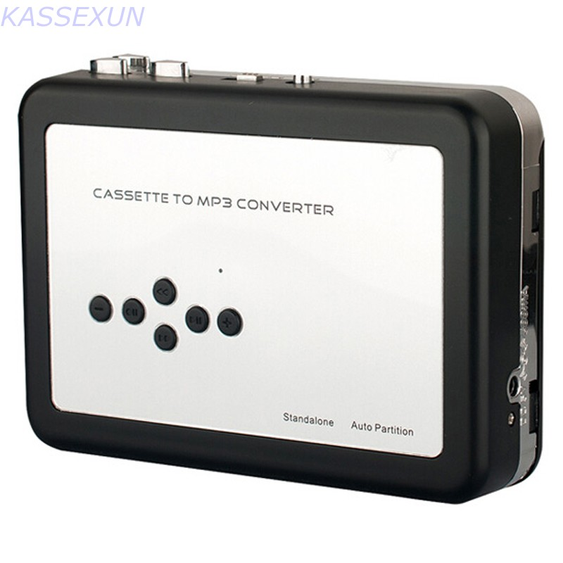 Cassette to MP3 converter in SD TF Card, convert tape cassette to mp3 directly into SD Card no pc need. Free shipping <br>