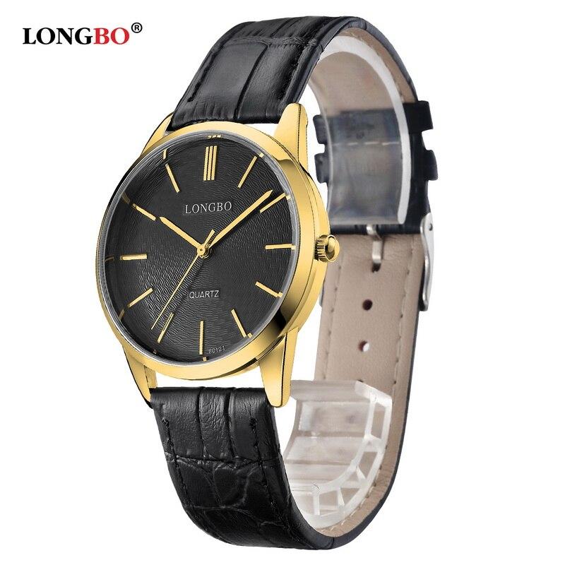 2017 LONGBO Luxury Simple Quartz Watch Casual Fashion Leather Watches Men Women Couple Watch Sports Analog Wristwatch 80121<br><br>Aliexpress